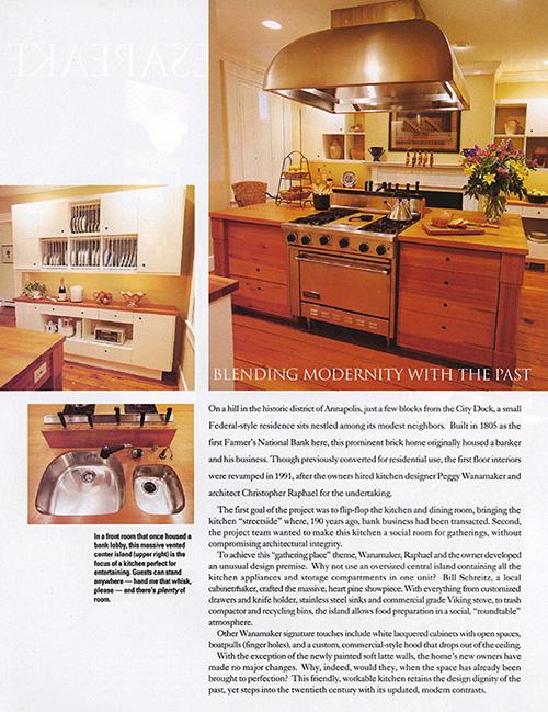 Wanamaker Raphael Architecture Kitchen Design Art